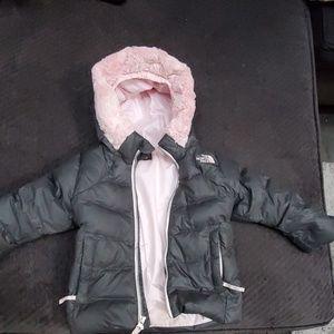 2T Goose Down North Face Coat